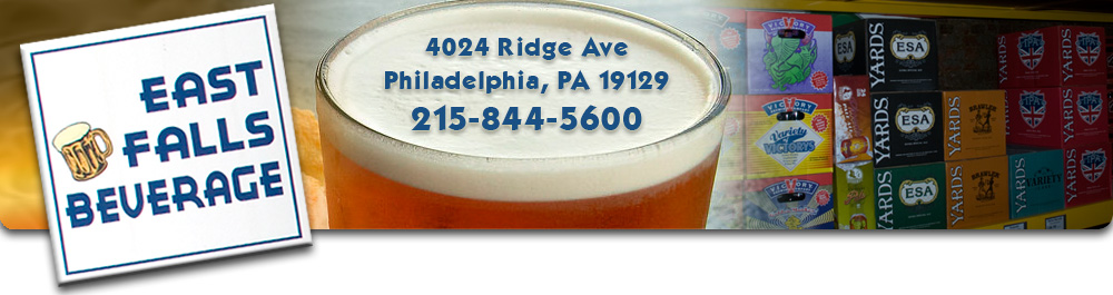 East Falls Beverage - 4024 Ridge Ave, Philadelphia, PA 19129