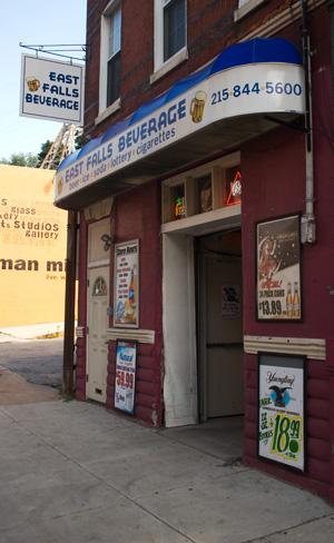 East Falls Beer storefront